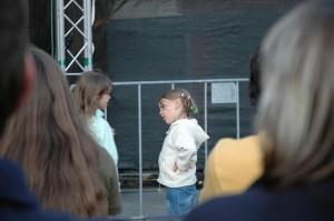 Girl arguing