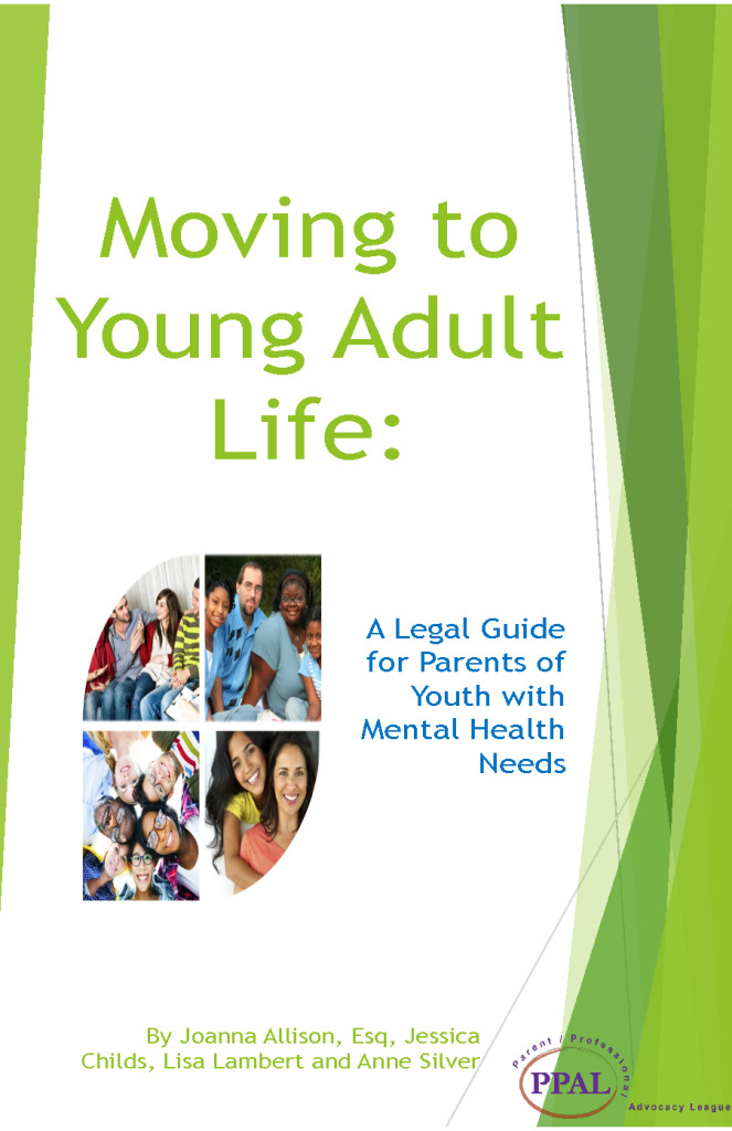 Moving to Young Adult Life: A Legal Guide for Parents of Youth with Mental Health Needs