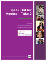 thumbnail of Speak-Out-for-Access-Take-2