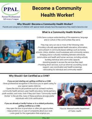 Become a Community Health Worker!
