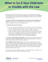 What to Do if Your Child Gets in Trouble with the Law